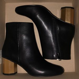 Urban Outfitters Hexagon Heeled Boots